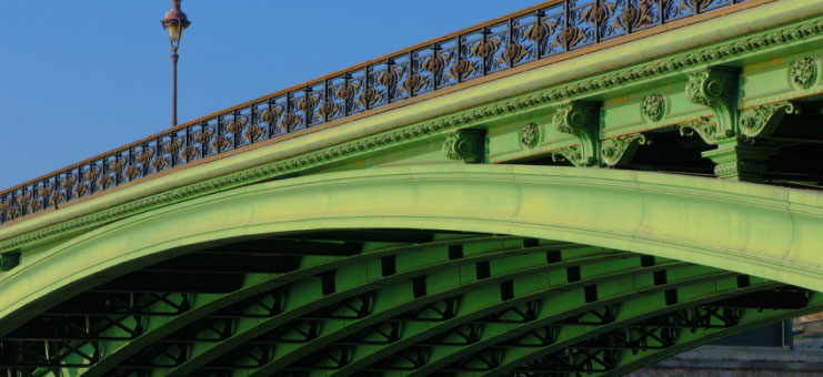 Pont Notre-Dame and underside , Paris